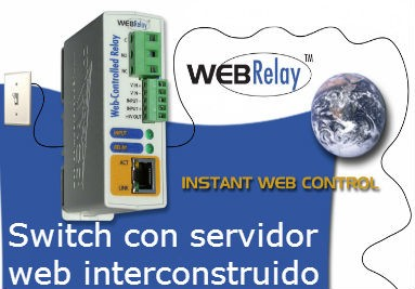 Switches controlados vía web