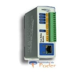 Relevador ethernet cuádruple Webrelay Quad
